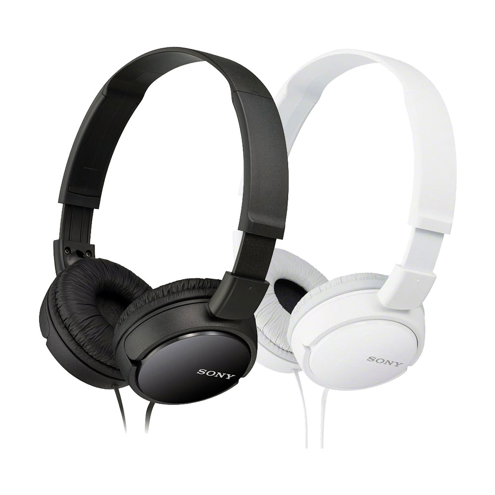 49bfc9a3ab4 Sony Mdr-Zx110 zx Series On-Ear Headphones/B/W - Amax Marketplace